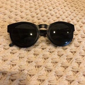 3.1 Phillip Lim round black Sunglasses